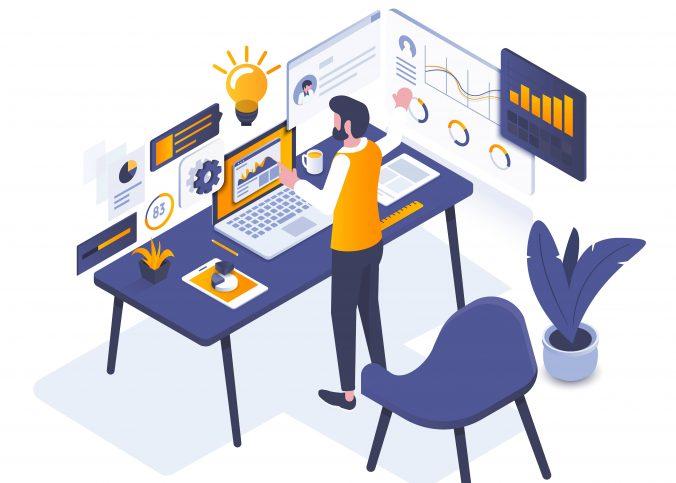 Ilustração - Quando devo reformular meu site? | Blog Superbiz